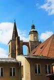 Middeleeuwse kerken in Duitsland Royalty-vrije Stock Foto