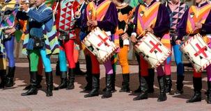 Middeleeuwse kleuren Stock Fotografie