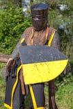 Middeleeuwse Knight stock afbeelding