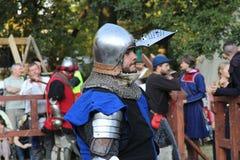 Middeleeuwse Knight Stock Afbeeldingen