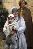 Middeleeuwse kostuumpartij Royalty-vrije Stock Afbeelding