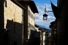 Middeleeuwse lantaarns stock afbeeldingen