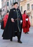 Middeleeuwse mens Royalty-vrije Stock Afbeeldingen