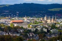 Middeleeuwse monumenten in Trier Stock Foto