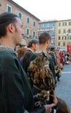 Middeleeuwse parade Royalty-vrije Stock Afbeelding