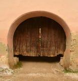 Middeleeuwse poort Stock Foto