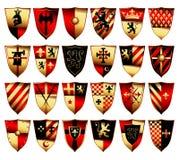 Middeleeuwse reeks Royalty-vrije Stock Afbeeldingen