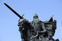 Middeleeuwse ridder Royalty-vrije Stock Foto