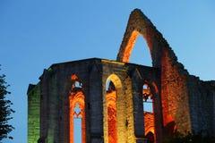 Middeleeuwse ruïne St.Katarina in Visby.JH Stock Foto's