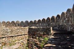 Middeleeuwse ruïnes Stock Fotografie