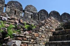 Middeleeuwse ruïnes Royalty-vrije Stock Foto