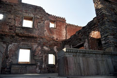Middeleeuwse ruïnes Royalty-vrije Stock Afbeelding