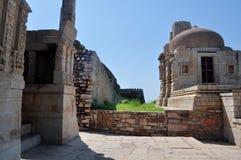Middeleeuwse ruïnes Royalty-vrije Stock Foto's