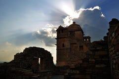 Middeleeuwse ruïnes Royalty-vrije Stock Afbeeldingen