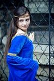 Middeleeuwse schoonheid Stock Foto