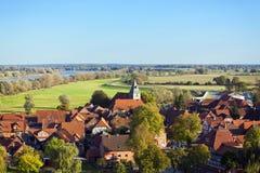 Middeleeuwse stad van Hitzacker Royalty-vrije Stock Fotografie
