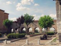 Middeleeuwse Stad van Lerma in Spanje Stock Afbeeldingen