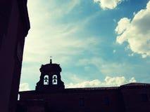 Middeleeuwse Stad van Lerma in Spanje Stock Foto