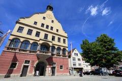 Middeleeuwse stad van Ulm stock afbeeldingen