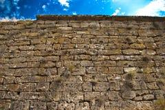 Middeleeuwse steenmuur Royalty-vrije Stock Afbeeldingen