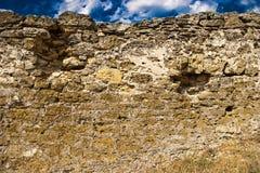 Middeleeuwse steenmuur Royalty-vrije Stock Foto
