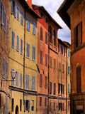 Middeleeuwse straat Royalty-vrije Stock Afbeelding