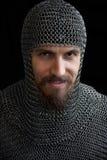 Middeleeuwse strijder Royalty-vrije Stock Foto