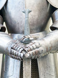 Middeleeuwse strijder Royalty-vrije Stock Foto's