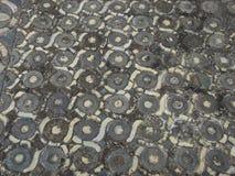 Middeleeuwse tegels stock afbeelding