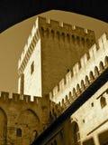 Middeleeuwse toren Royalty-vrije Stock Afbeeldingen