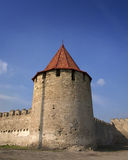 Middeleeuwse toren van citadelBuigmachine Stock Afbeelding
