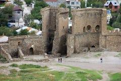 Middeleeuwse vesting in de Krim Stock Afbeeldingen