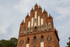 Middeleeuwse vestingwerken in Neubrandenburg Royalty-vrije Stock Afbeelding