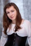Middeleeuwse vrouw Stock Foto's
