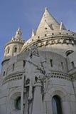 Middeleeuwse wacht bij zijn bastion Stock Foto's