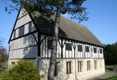 Middeleeuwse Zaal, York. Royalty-vrije Stock Foto's