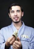 Maak Contant geld in Uw Robe! Royalty-vrije Stock Fotografie