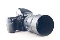 Middelgrote formaatcamera Royalty-vrije Stock Foto's