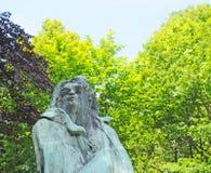 Middelheim Antwerp, konst vid Rodin Royaltyfria Foton