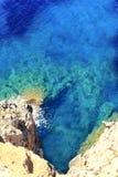 Middellandse Zee de kaap Formentera van Barbaria Royalty-vrije Stock Foto's