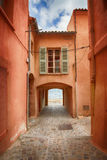 Middellandse Zee dichtbij de stad van Saint Tropez Royalty-vrije Stock Foto