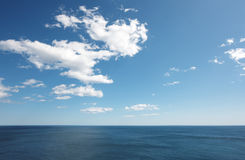Middellandse Zee mening in Spaanse kustlijn Valencia, Spanje Royalty-vrije Stock Afbeelding