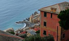 Middellandse Zee - mening vanaf de bovenkant Stock Foto's