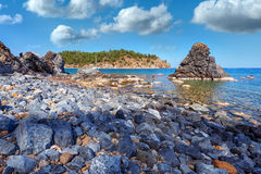 middellandse-zeegebied Royalty-vrije Stock Afbeelding