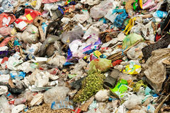 Midden Garbage Royalty Free Stock Images