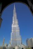Midden-Oosten, Verenigde Arabische Emiraten, Doubai, Burj Khalifa Stock Foto
