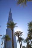 Midden-Oosten, Verenigde Arabische Emiraten, Doubai, Van de binnenstad, Burj Khalifa Royalty-vrije Stock Foto