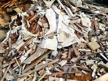 Midden von Holzbearbeitung in Bangkok Stockbild