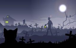 Middernachtverhaal vector illustratie
