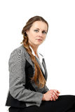 Middle age business woman Stock Photos